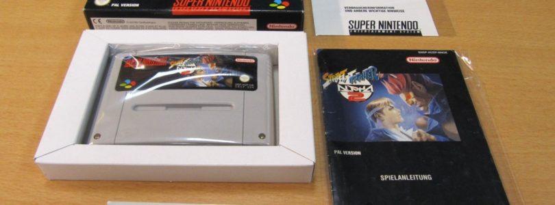 SNES – Street Fighter Alpha 2 – PAL – Complete