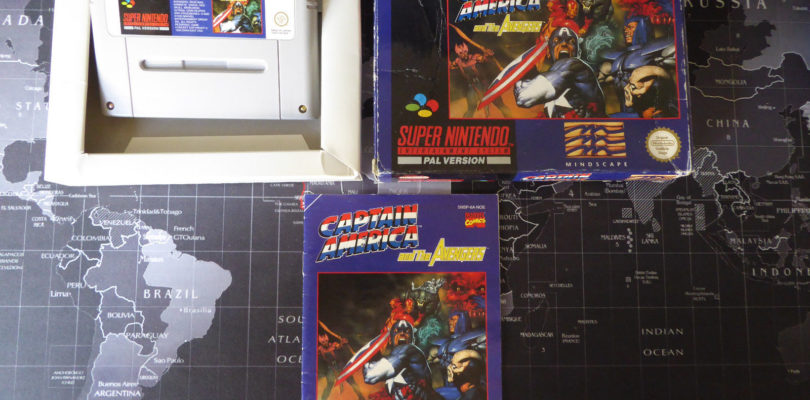 SNES – Captain America & The Avengers – PAL – Boxed