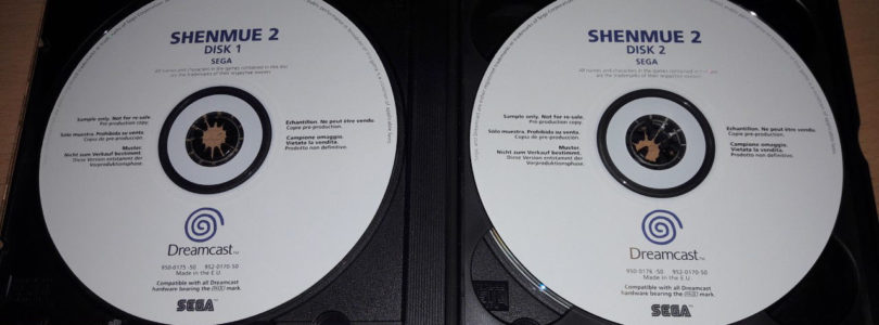 DC – Shenmue 2 Promo – PAL – Complete
