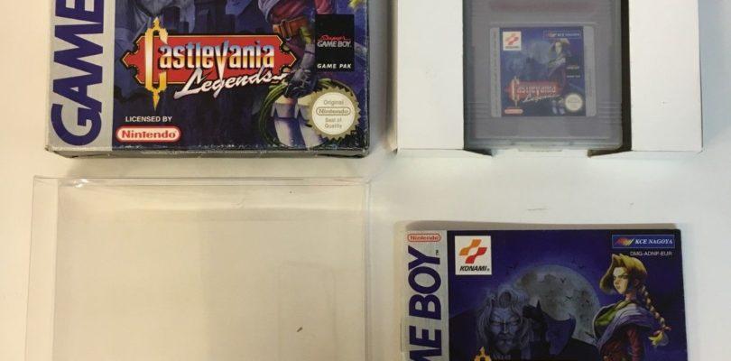 GB – Castlevania Legends – PAL – Complete