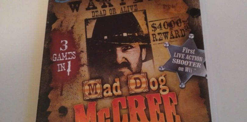 WII – Mad Dog McGree – PAL – Complete