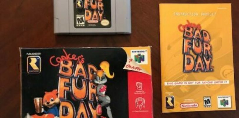 N64 – Conker's Bad Fur Day – NTSC – Complete