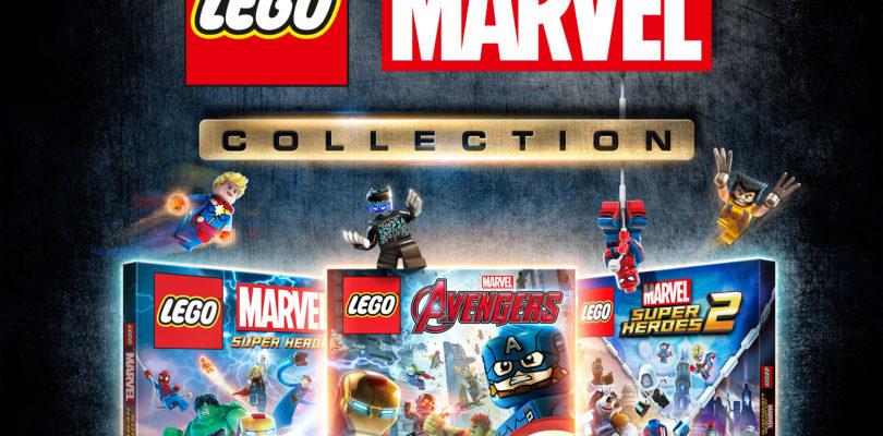 Una Collection con tutti i titoli LEGO Marvel? Eccovela!