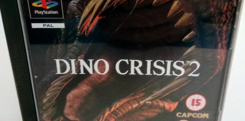 PS1 – Dino Crisis 2 – PAL – COMPLETE