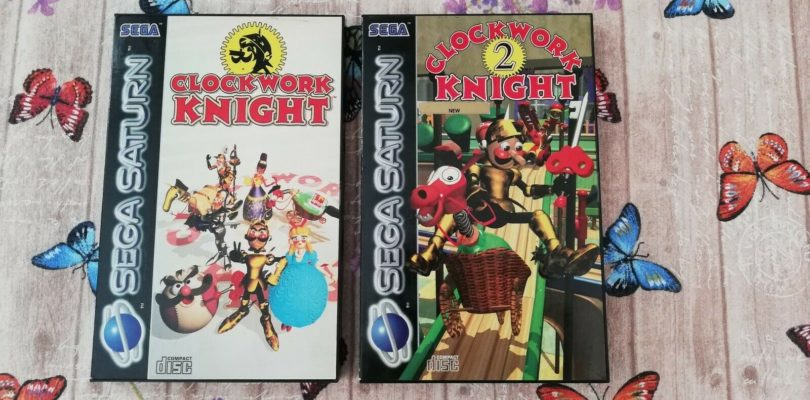 SATURN – Clockwork Knight 1 e 2 – PAL – COMPLETE