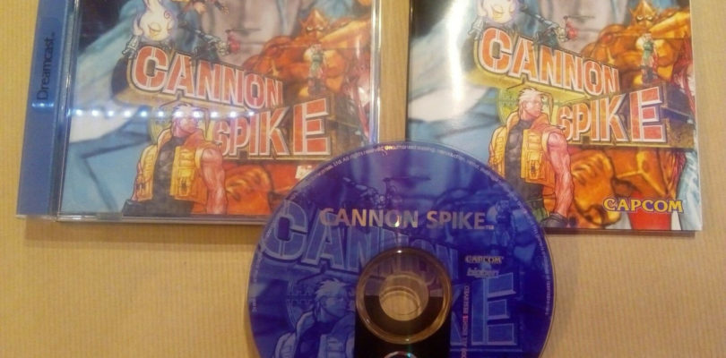 DC – Cannon Spike – PAL – COMPLETE