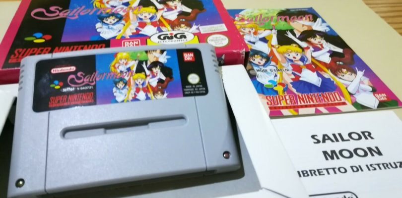 SNES – Sailor Moon – PAL – Complete