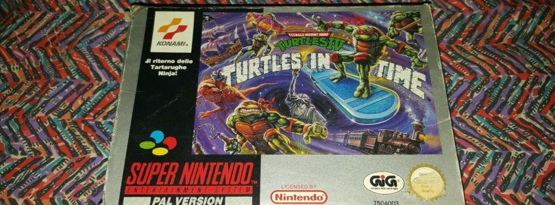 SNES – TMNT 4 Turtles In Time – PAL – Complete