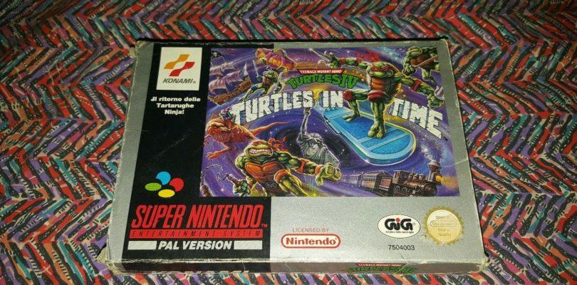 SNES – TMNT 4 Turtles In Time – PAL – Complete