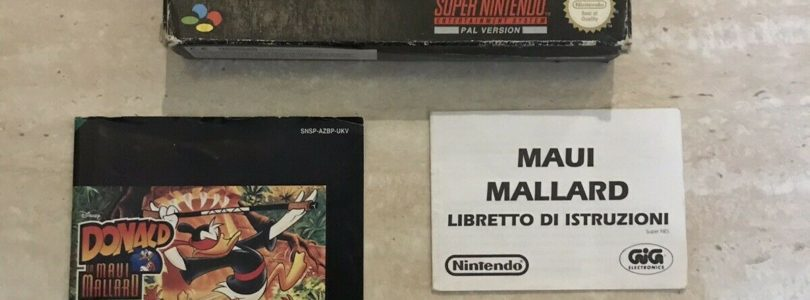 SNES – Donald In Maui Mallard – PAL – Complete
