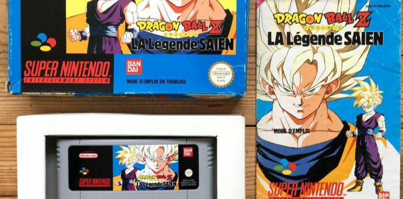 SNES – Dragon Ball Z La Legende Saien – PAL – Complete