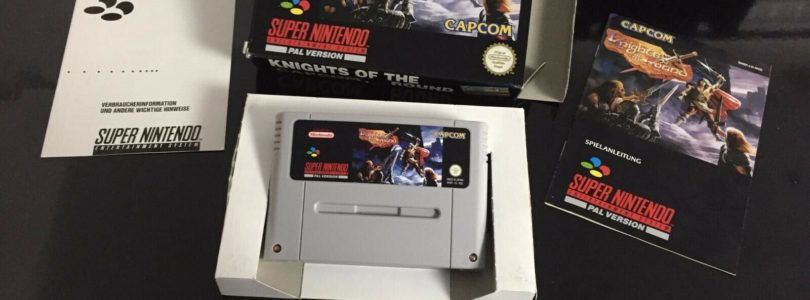 SNES – Knights Of The Round – PAL – Complete
