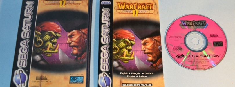 SATURN – Warcraft 2 The Dark Saga – PAL – Complete