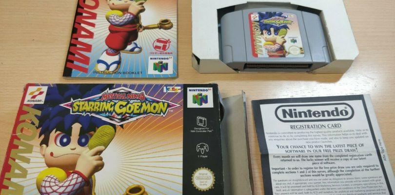 N64 – Mystical Ninja Starring Goemon – PAL – Complete