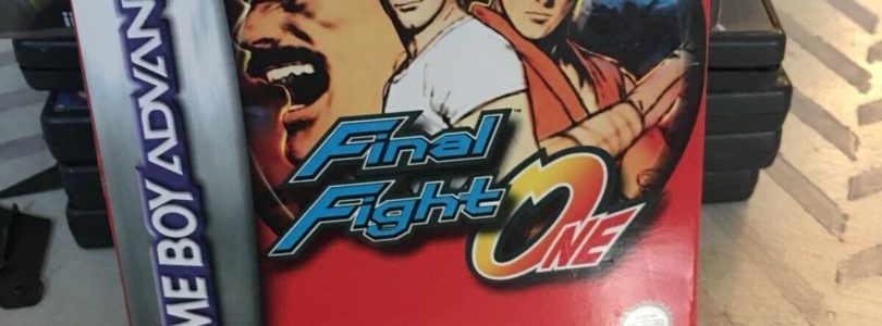 GBA – Final Fight One – PAL – Complete