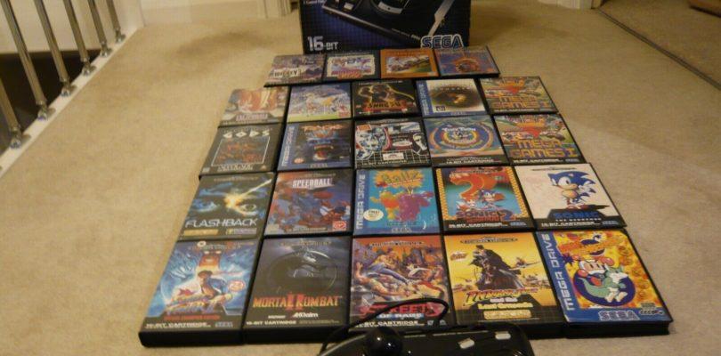MD – Console & 24 Giochi & Arcade Stick – PAL – Boxed