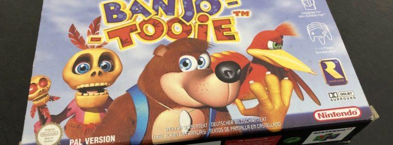 N64 – Banjo Tooie – PAL – Complete