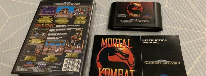 MD – Mortal Kombat – PAL – Complete