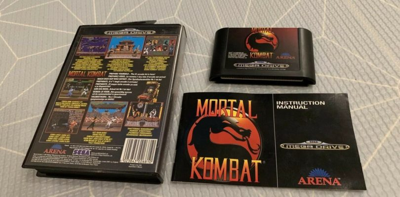 MD – Mortal Kombat – PAL – Complete