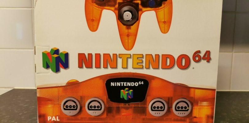 N64 – Nintendo 64 Fire Orange – PAL – COMPLETE