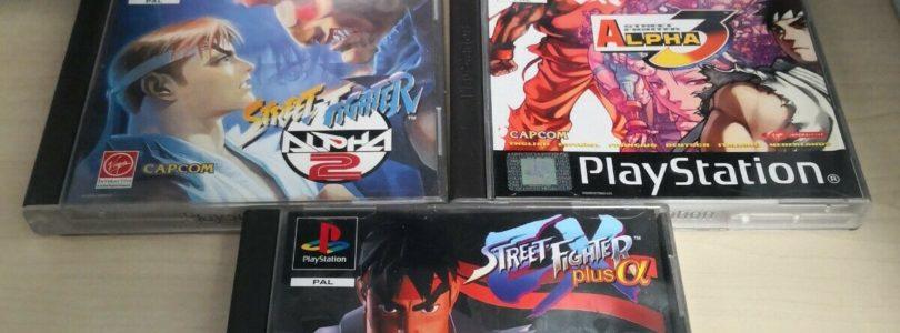 PS1 – Lotto di 5 Giochi Capcom – PAL – COMPLETE