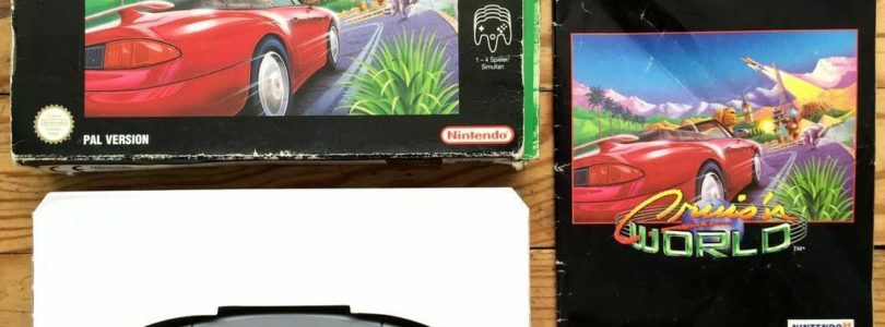 N64 – Cruis'n World – PAL – Complete