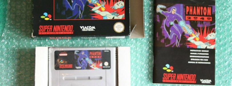 SNES – Phantom 2040 – PAL – COMPLETE
