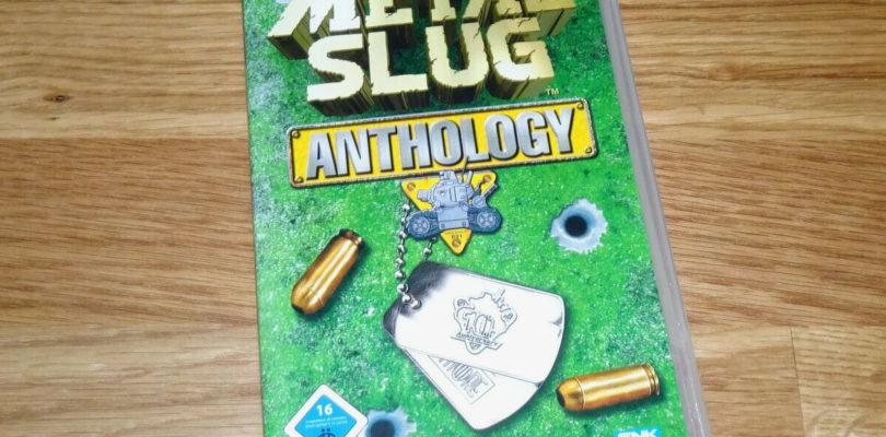 PSP – Metal Slug Anthology – PAL – COMPLETE