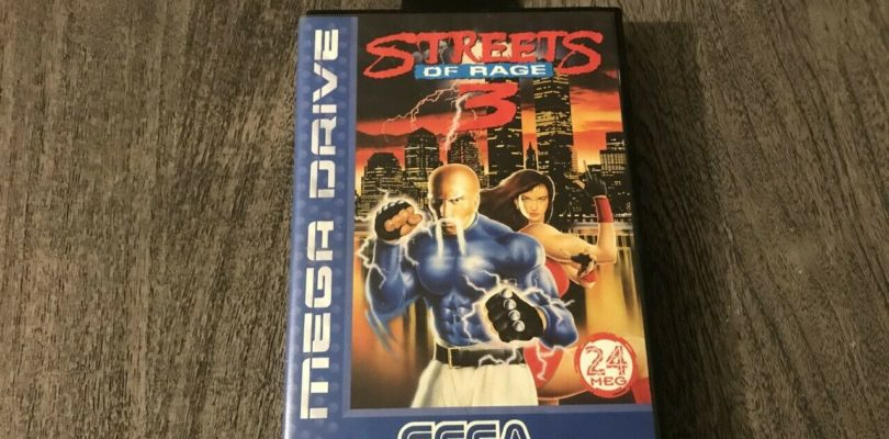 MD – Streets Of Rage 3 – PAL – COMPLETE