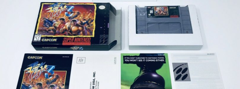 SNES – Final Fight 3 – NTSC – COMPLETE