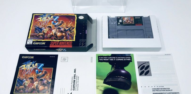 SNES – Final Fight 3 – NTSC – COMPLETE