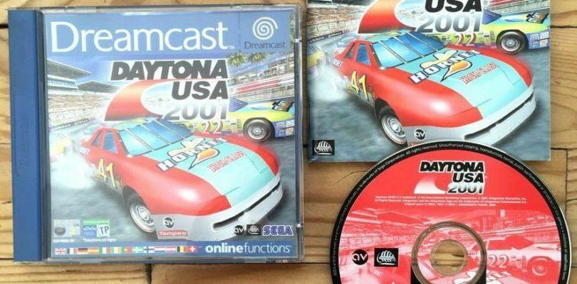 DC – Daytona USA 2001 – PAL – COMPLETE