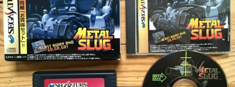 SATURN – Metal Slug Ram Box – JAP – COMPLETE