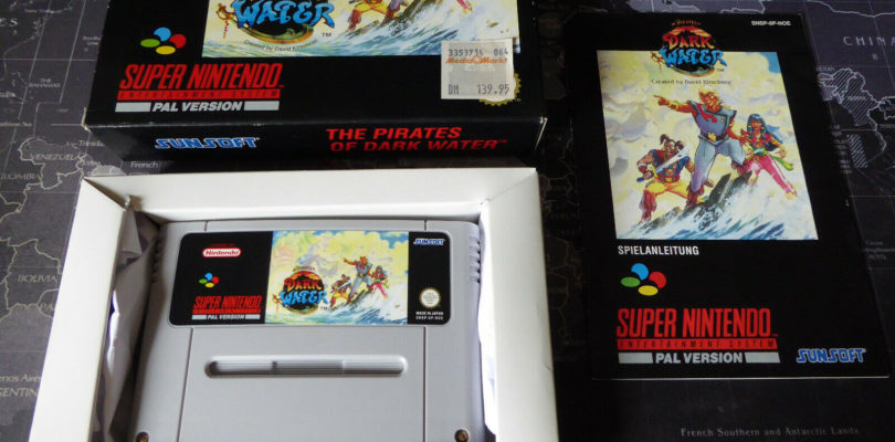SNES – The Pirates Of The Dark Water – PAL – COMPLETE