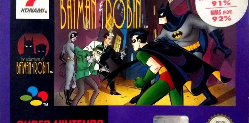 SNES – The Adventures Of Batman And Robin – PAL – COMPLETE