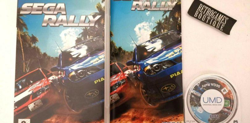 PSP – Sega Rally Revo – PAL – COMPLETE