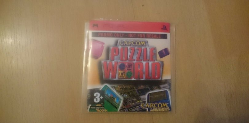 PSP – Capcom Puzzle World  Promo – PAL – Complete