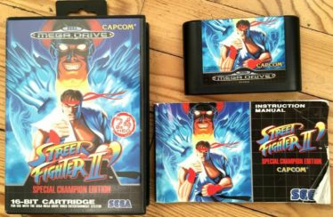 MD -Street Fighter 2 C.E. – PAL – COMPLETE