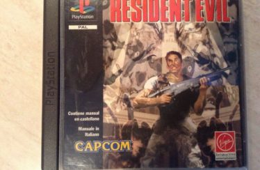 PS1 – Resident Evil – PAL – COMPLETE
