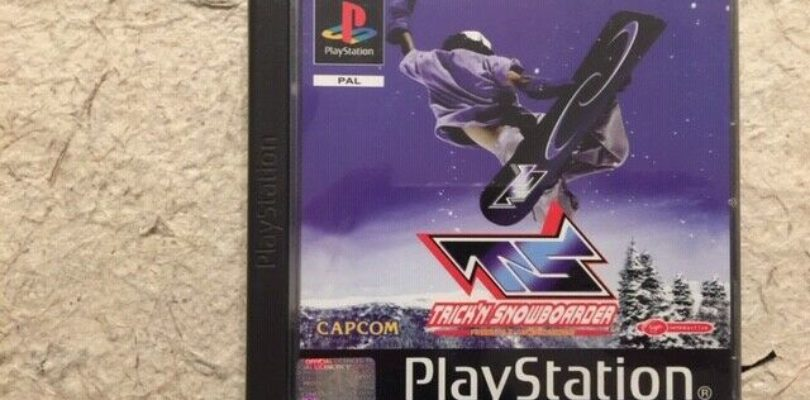 PS1 – Trick'N Snowboarder – PAL – COMPLETE
