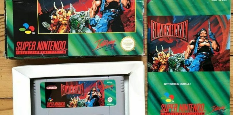 SNES – Blackhawk – PAL – COMPLETE