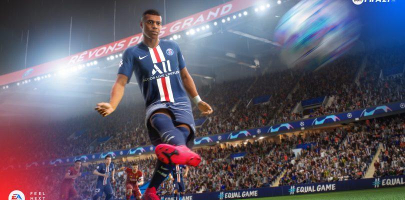FIFA 21, il trailer ci mostra la modalità carriera e la stella di copertina, Kylian Mbappé