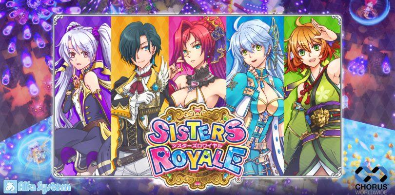 Sisters Royale al lancio anche su Xbox One il 10 luglio prossimo!